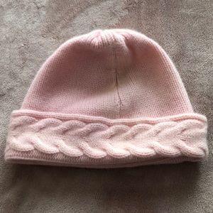 Cashmere pink beanie